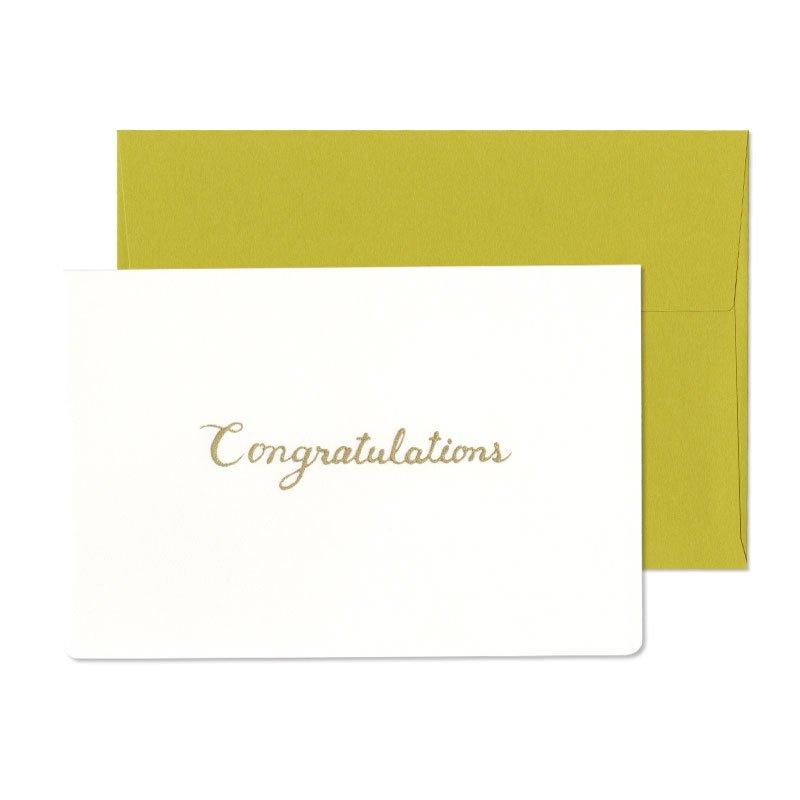 グリーティングカード 贈ることば Congratulations