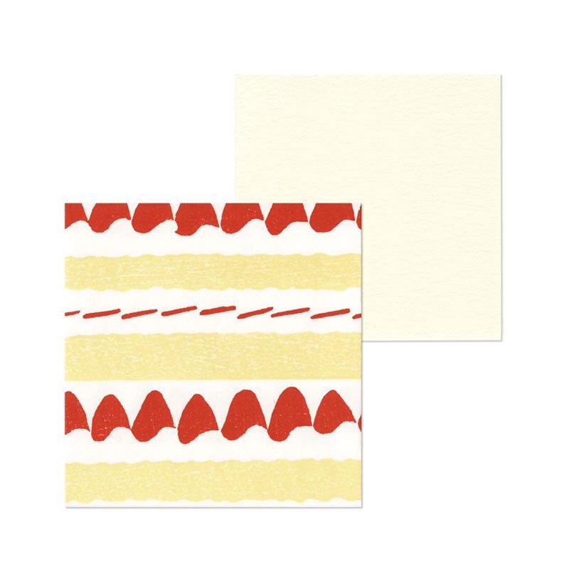 ポチ袋二つ折り ケーキ(1枚入・カード付)