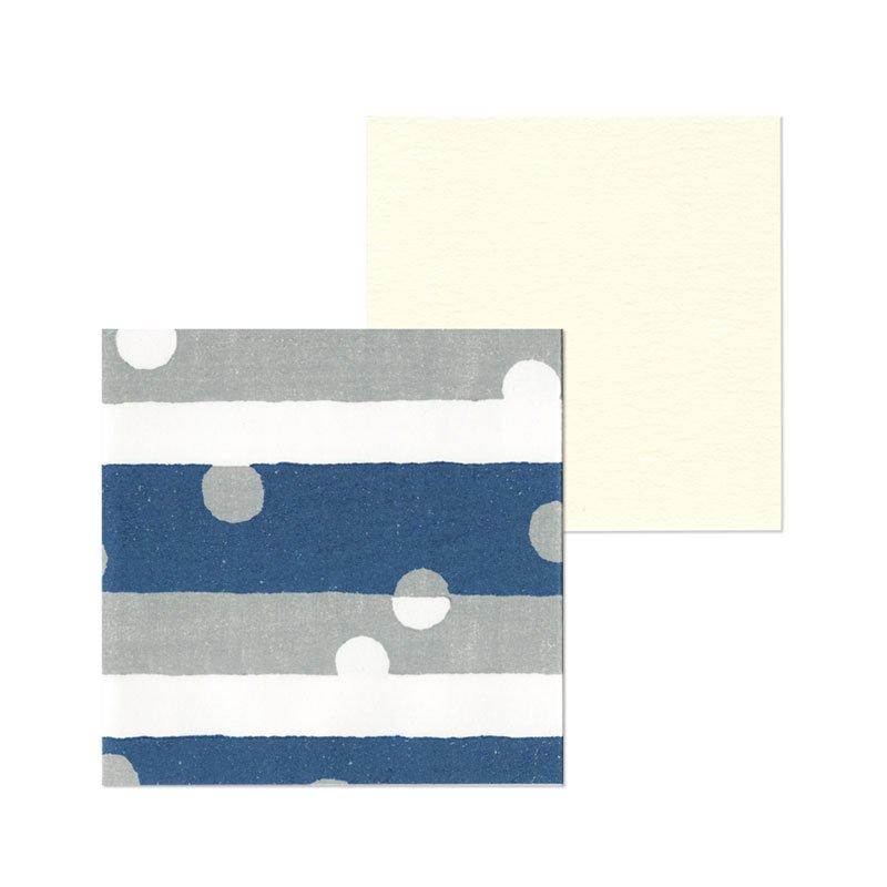 ポチ袋二つ折り 雪の日(1枚入・カード付)