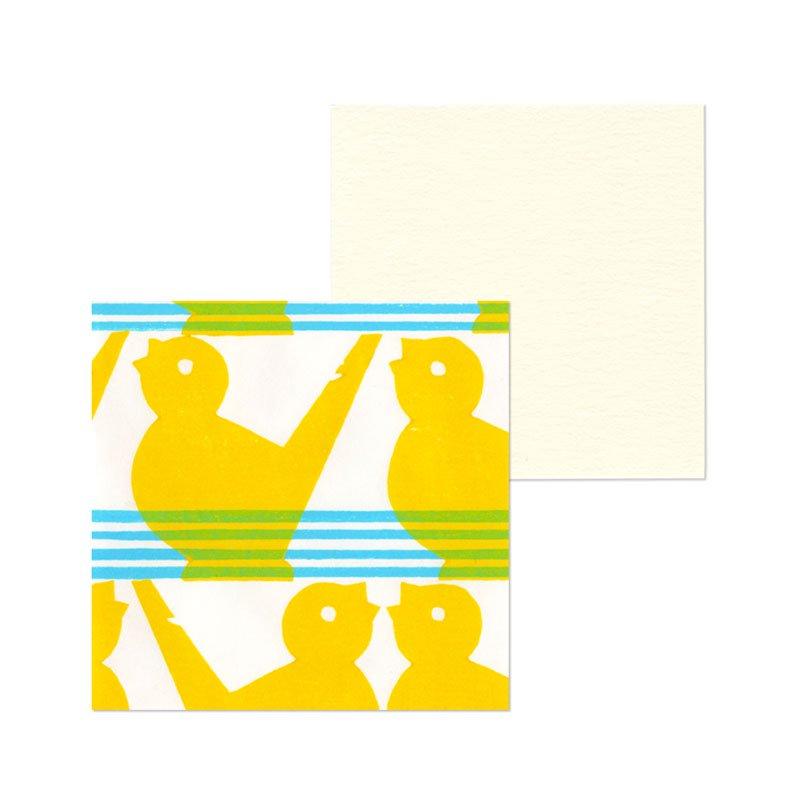 ポチ袋二つ折り 水笛(1枚入・カード付)