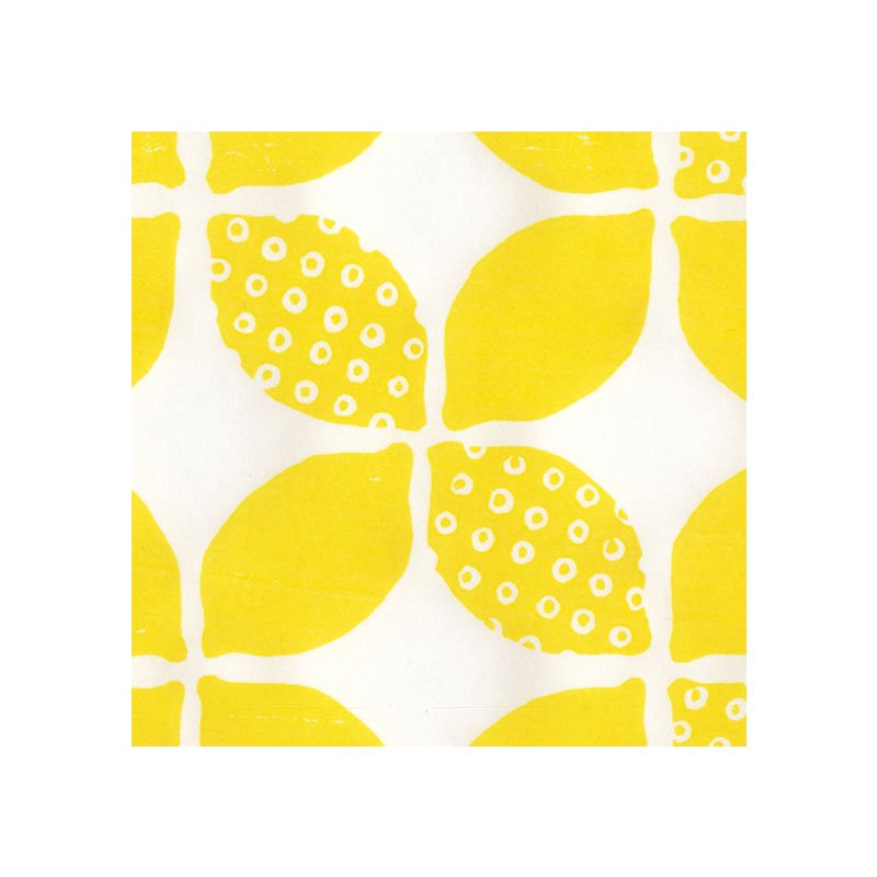 木版和紙 鹿の子レモン
