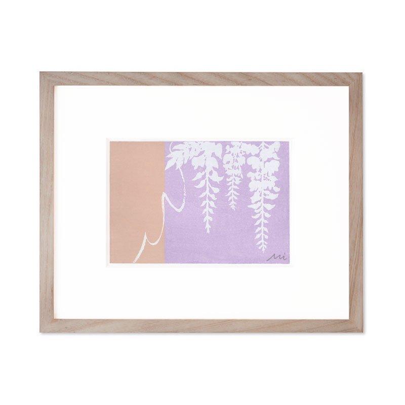 木版画 加藤光穂「京都時間 fuji」