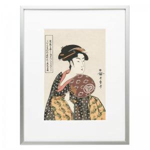 浮世絵 喜多川歌麿 美人画 高島おひさ