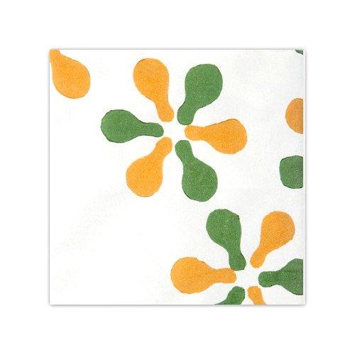 木版和紙 瓢箪花