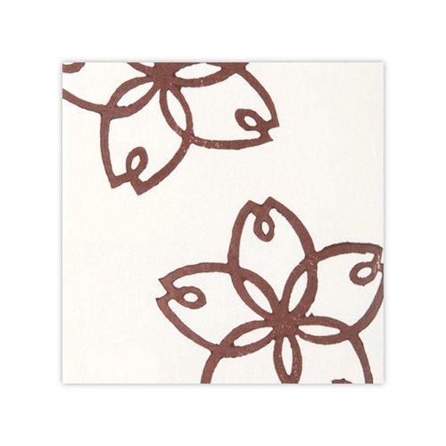 木版和紙 弁柄桜
