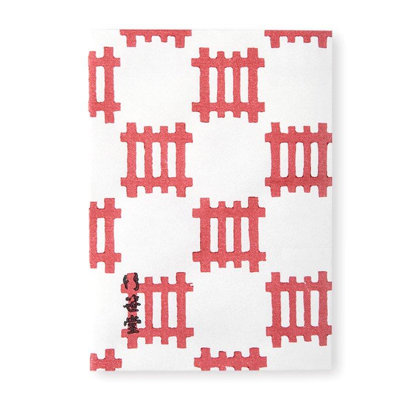 ブックカバー 格子チェック(全2色)