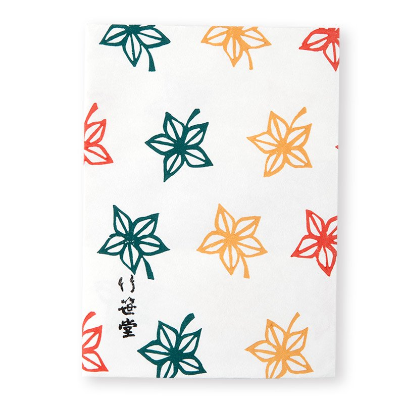 ブックカバー 三色楓