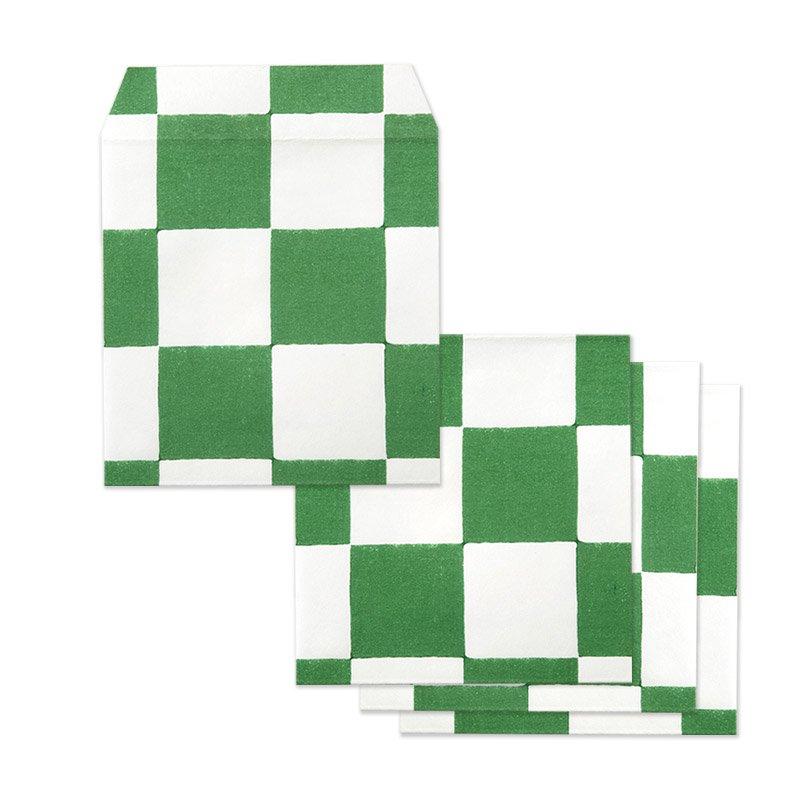 ポチ袋二つ折り 市松(全2色)