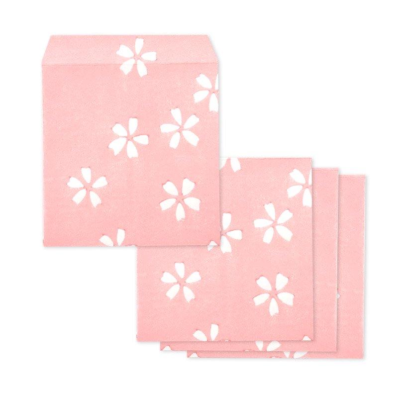 ポチ袋二つ折り 都桜(全3色)