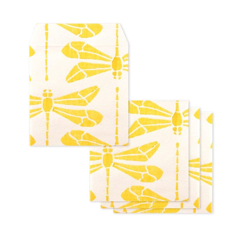 ポチ袋二つ折り 蜻蛉