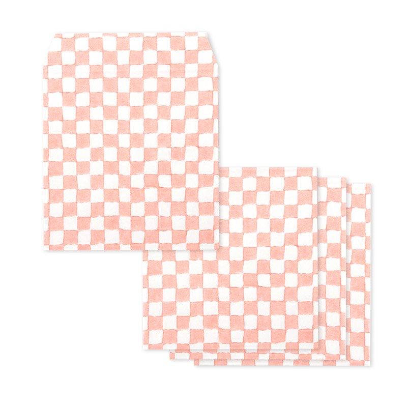 ポチ袋二つ折り 石畳