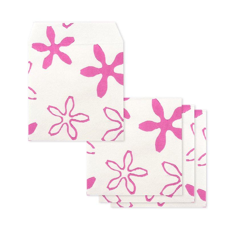 ポチ袋二つ折り 桜化粧