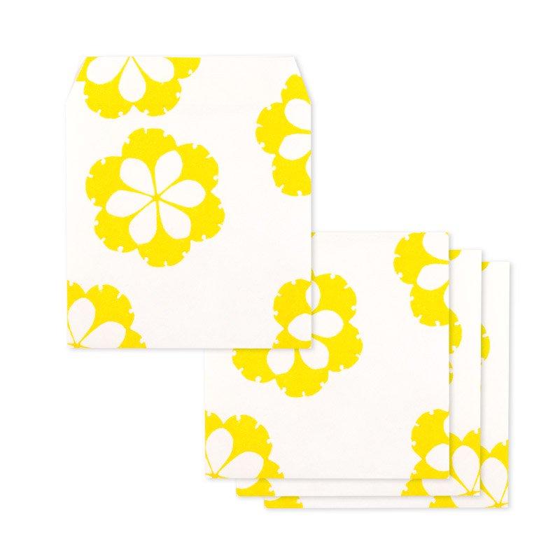 ポチ袋二つ折り 銀杏丸(全2色)