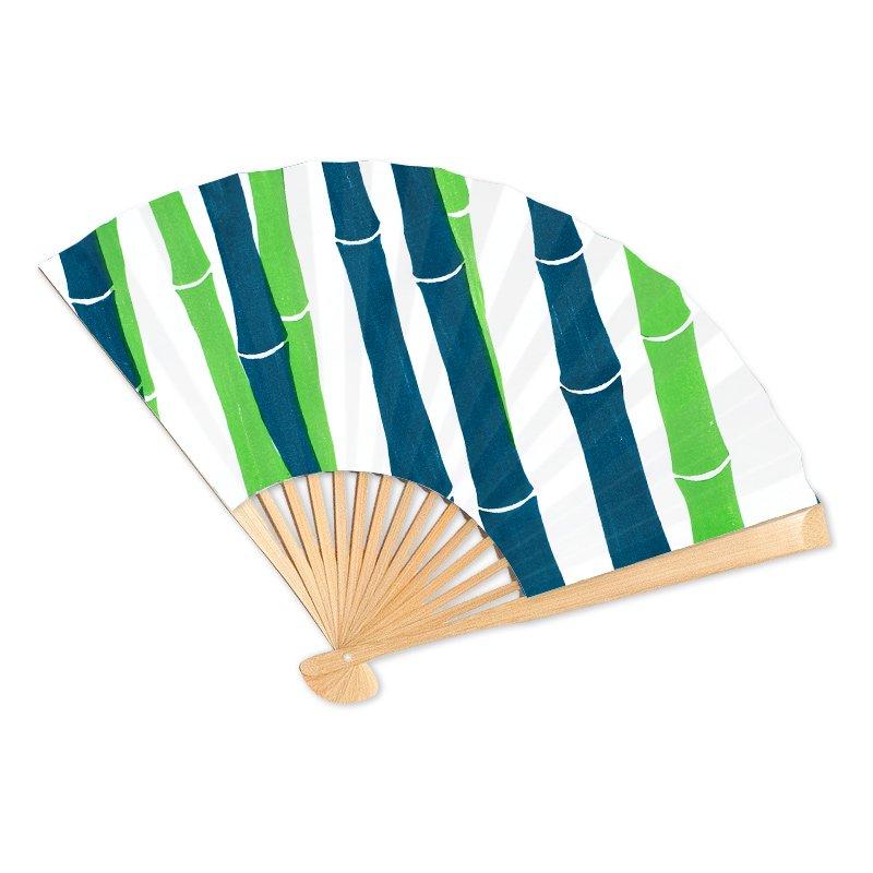 オーダーメイド京扇子 ボタニック 竹