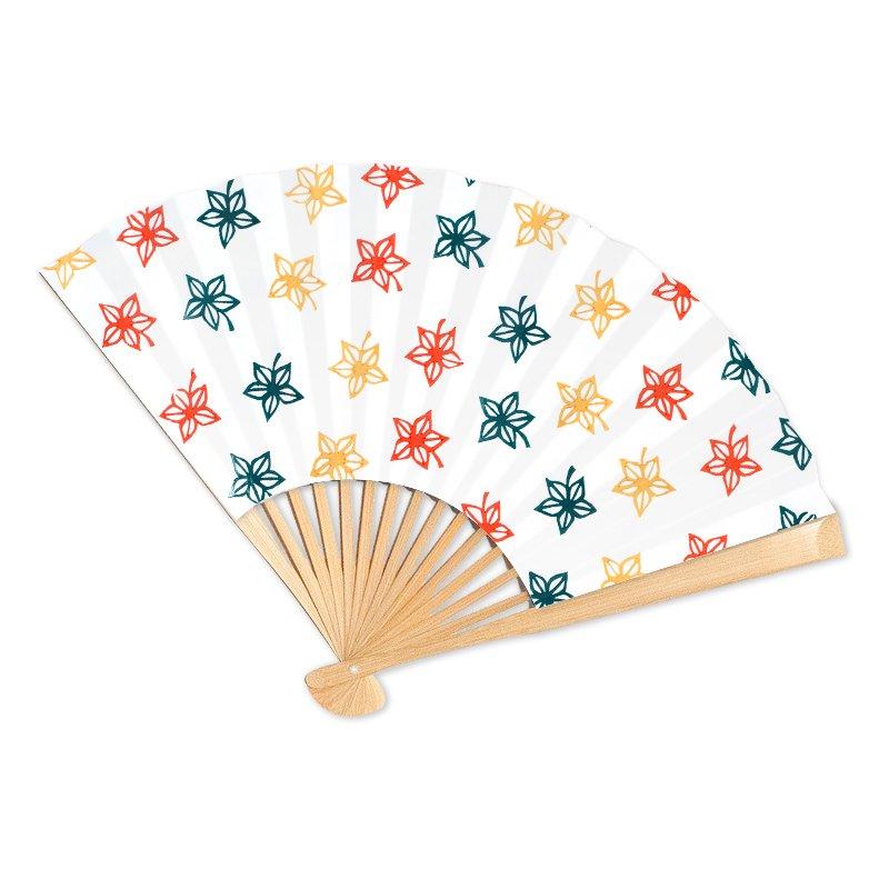 オーダーメイド京扇子 三色楓