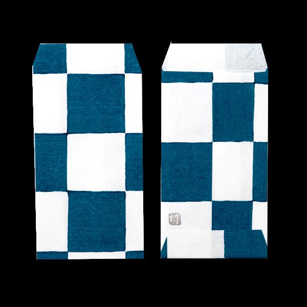 ポチ袋三つ折 市松(全2色)