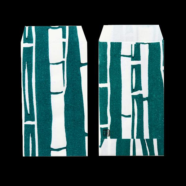 ポチ袋三つ折 竹林