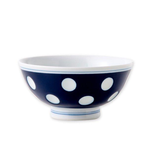 肥前吉田焼 ご飯茶碗(藍)