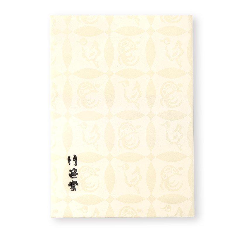 ブックカバー 鶴亀七宝(全2色)