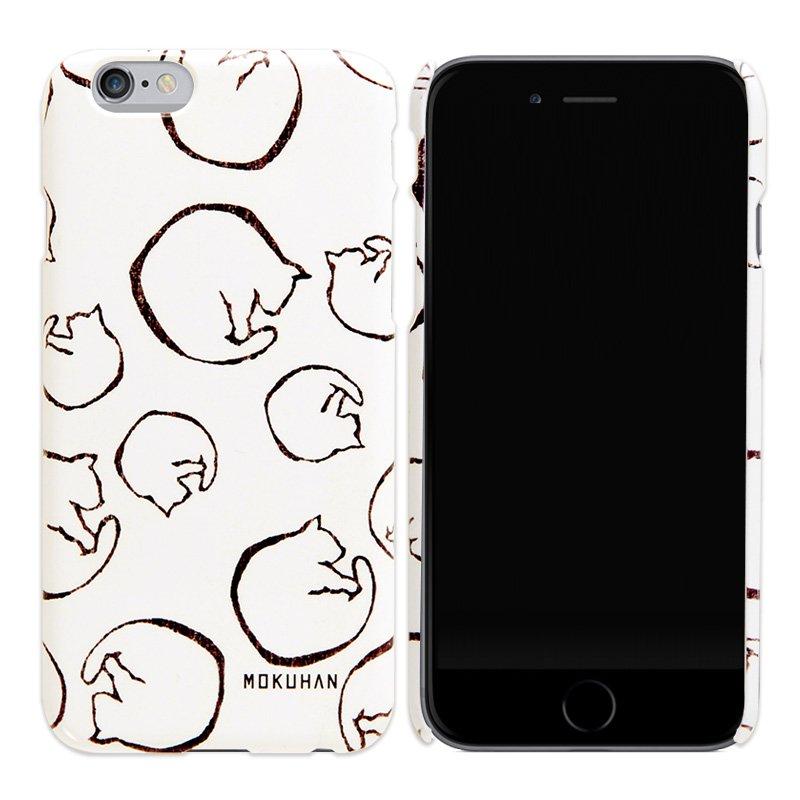 MOKUHAN iPhoneケース「ねこ」