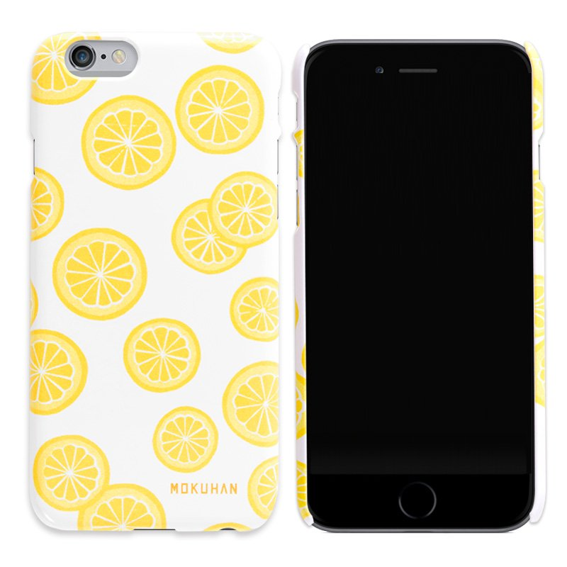 MOKUHAN iPhoneケース「柚子模様」