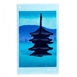 MOKUHAN 竹笹堂×永楽屋コラボ 手ぬぐい「東寺」