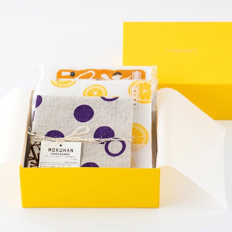 MOKUHAN キッチンアイテム BOX入りギフトセットA