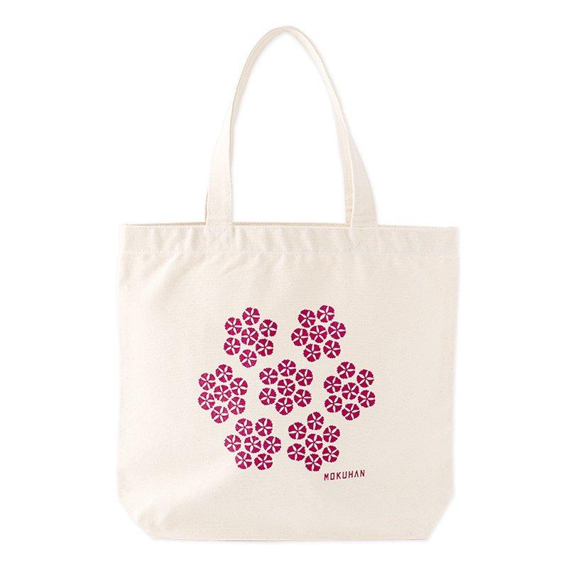 MOKUHAN キャンバストートバッグ「撫子」