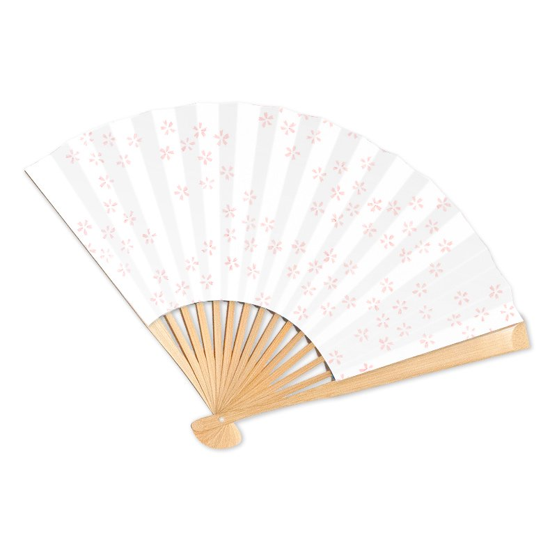 京扇子 桜の舞