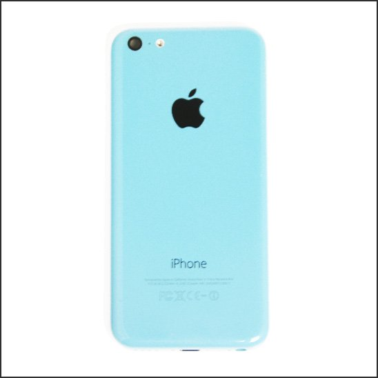 【中古】iPhone5C用 純正バックパネル(バックプレート)