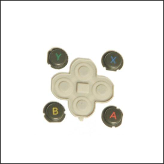 【中古動作品】new Nintendo 3DSLL 純正ABXYボタン(表)