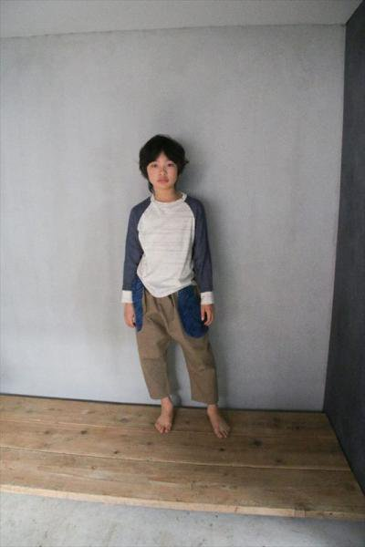 <img class='new_mark_img1' src='https://img.shop-pro.jp/img/new/icons20.gif' style='border:none;display:inline;margin:0px;padding:0px;width:auto;' />【30%OFF】ヘリンボーンダブルガーゼラグランTシャツ/Ladies