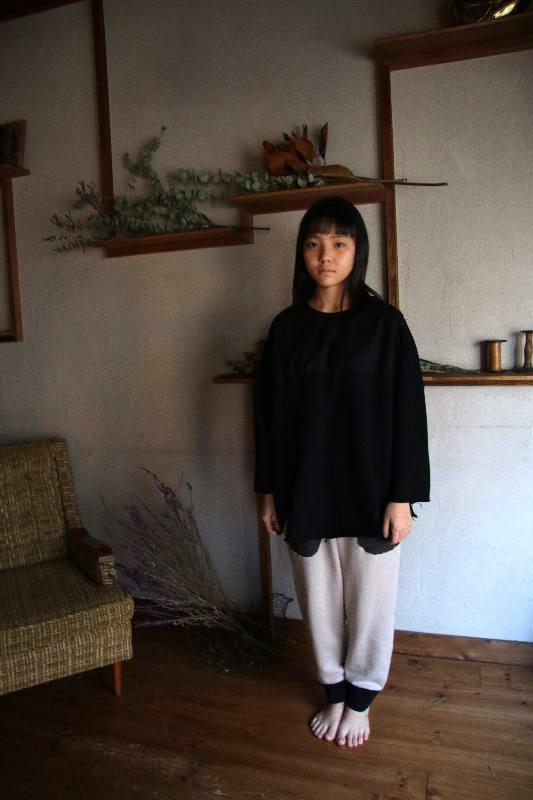 【30%OFF】切りっぱなしスエード切り替えトレーナー/free(Ladies)