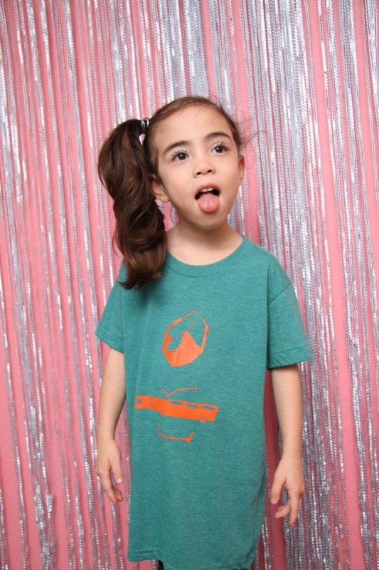 【予約販売】wagon/トライブレンド半袖Tシャツ(95〜145)
