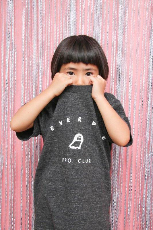 【予約販売】NEVERDIE PRO CLUB/半袖Tシャツ(95〜145)