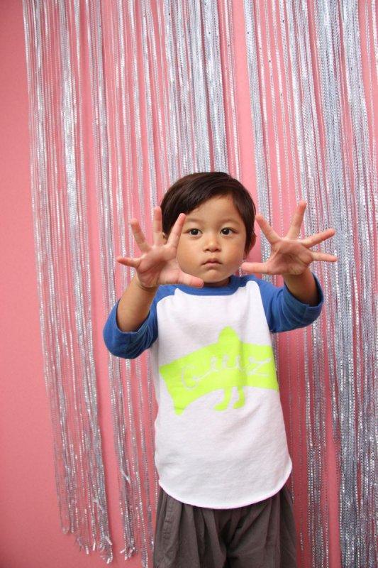 【予約販売】mantle/ラグランTシャツ(95〜145)