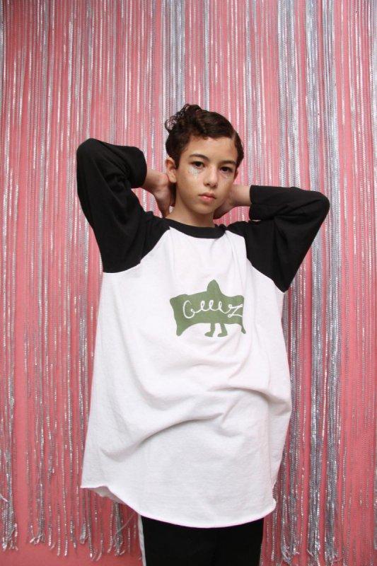 【予約販売】mantle/ラグランTシャツ(150〜170)