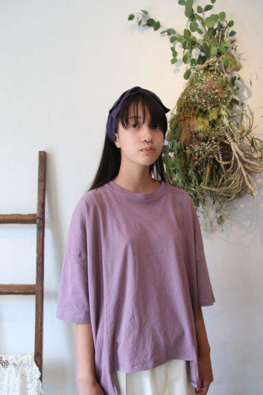 【予約販売】ソフト変形四角Tシャツ/free(Ladies)