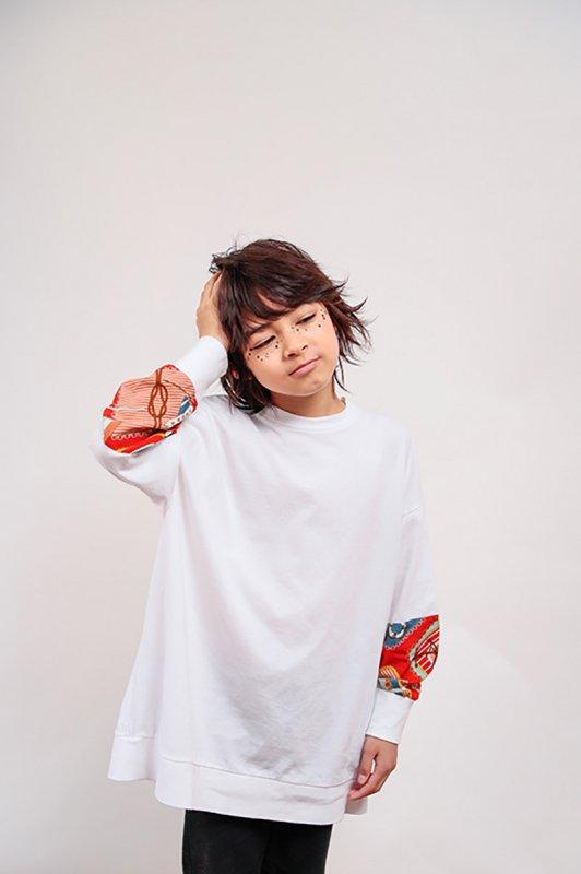Scarf/ロングTシャツ/SS・S・M)