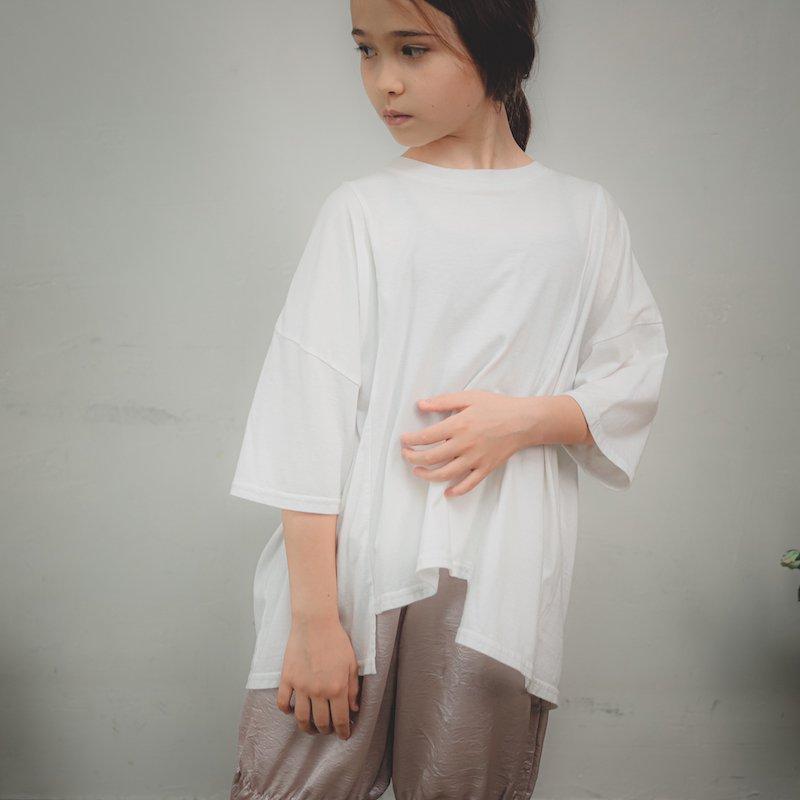 【予約販売】ソフト変形四角Tシャツ/SS・S・M