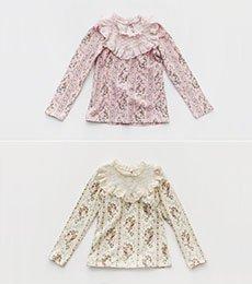 flo)モアスTシャツ(2色) 17/SS