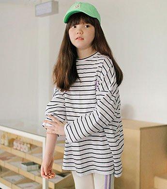 ライダーストライプTシャツ(3色) 即納