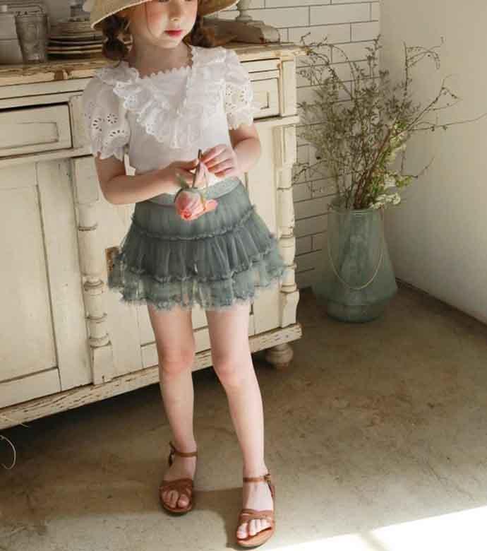 ロゼスパッツスカート(3色)