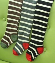socks)ニューストライプタイツ(3色) 再入荷