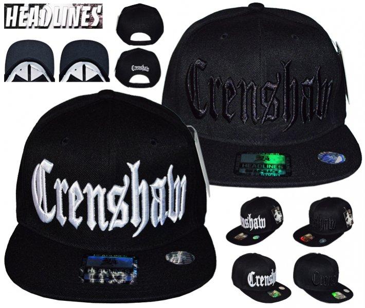 HEADLINES CRENSHAW SNAPBACK CAP 2COLOR 53b7bce4b94