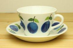 GUSTAVSBERG(グスタフスベリ) Prunus(プルーヌス) コーヒーカップ&ソーサー