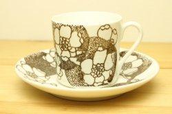 GUSTAVSBERG(グスタフスベリ)EMMA(エマ)コーヒーカップ&ソーサー (ブラウン) 2