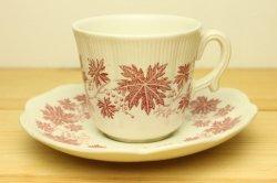 UPSALA-EKEBY/GEFLE(ウプサラ・エクビー/ゲフル)Vinranka (ヴィンランカ) コーヒーカップ&ソーサー (赤)