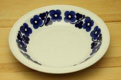 ARABIA(アラビア) aamu 青いお花の深皿19-2