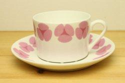 GUSTAVSBERG(グスタフスベリ)ROSA(ローサ)コーヒーカップ&ソーサー1